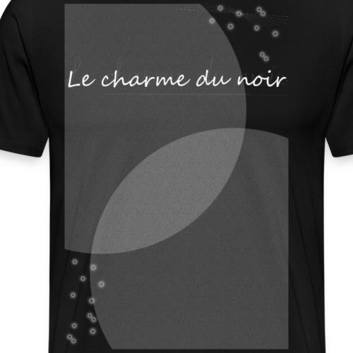 LE CHARME DU NOIR AMOUR - T-shirt Premium Homme