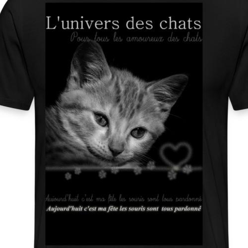 Fête des chats - T-shirt Premium Homme