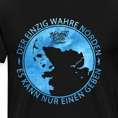 Der einzig wahre Norden - Männer Premium T-Shirt