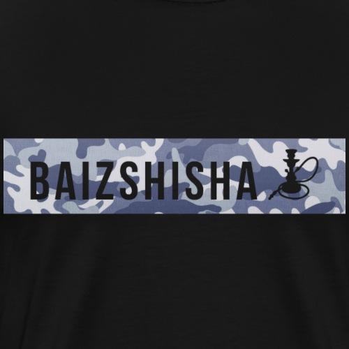 Blau Camouflage - Männer Premium T-Shirt