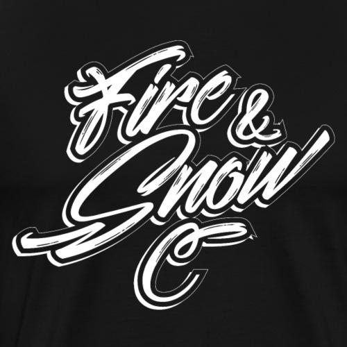 FIRE & SNOW - Men's Premium T-Shirt