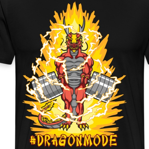 #Dragonmode (Aura Version) - Men's Premium T-Shirt