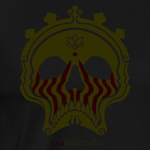 Skull Bronze - Men's Premium T-Shirt