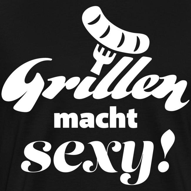 Grillen Geschenk für Männer T-Shirt Schürze