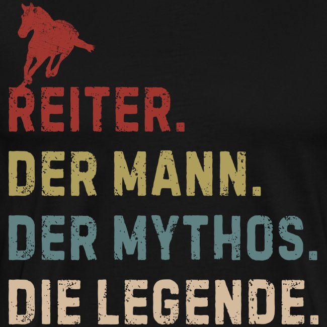 Vorschau: reiter legende - Männer Premium T-Shirt