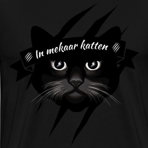 In mekaar katten - Mannen Premium T-shirt