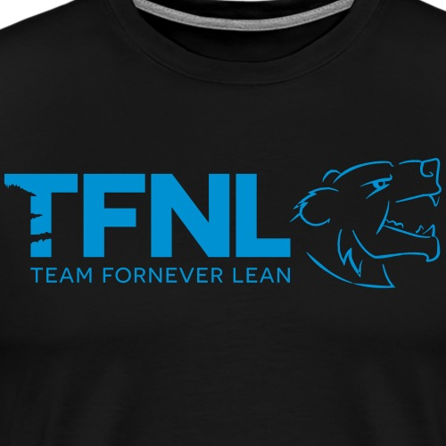 TFNL Blue Logo Tee - Men's Premium T-Shirt