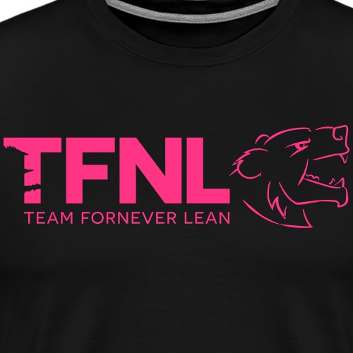 TFNL Pink Logo Tee - Men's Premium T-Shirt