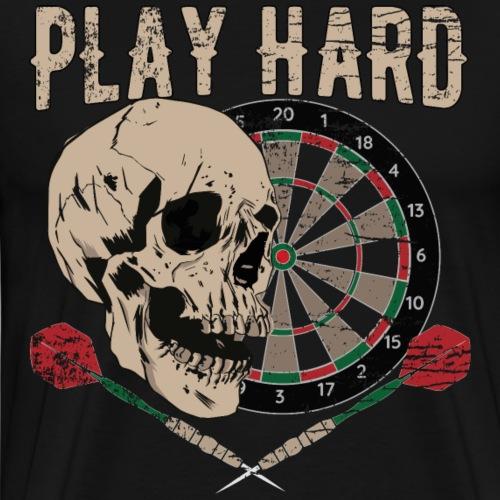 Play Hard - Männer Premium T-Shirt