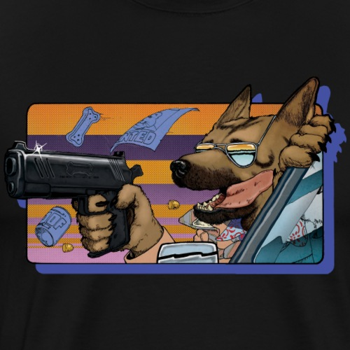 Gun Dog - bez napisu - Koszulka męska Premium