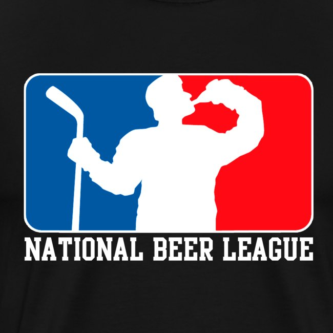 National Beer leauge - Eishockey Fun Shirt