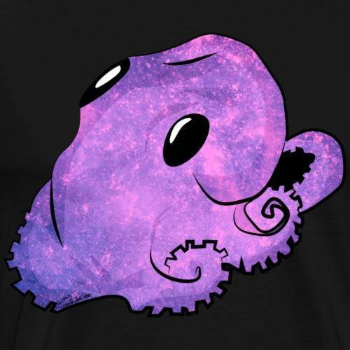 Kawaii bläckfisk - Premium-T-shirt herr