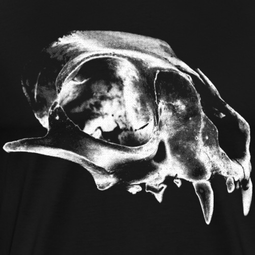 Monster Horror Skull Schädel Totenkopf Bestie - Männer Premium T-Shirt