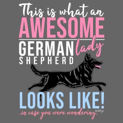 Awesome GSD Lady III - Miesten premium t-paita
