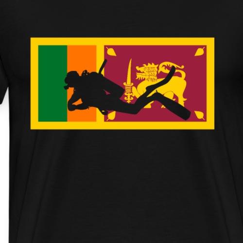 Sri Lanka tauchen Taucher Tauchparadies - Männer Premium T-Shirt