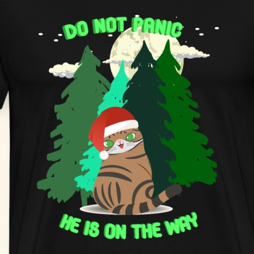 Weihnachten, Geschenke, Katzen im Wald und Mond.