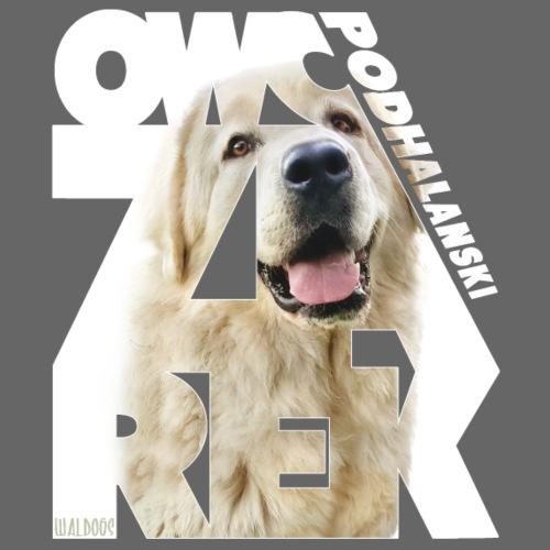 Owczarek Podhalanski III - Miesten premium t-paita
