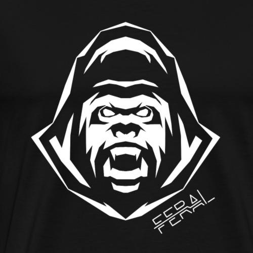 Tribal Gorilla - T-shirt Premium Homme