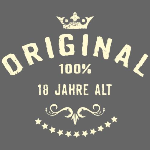 Original 100 Prozent 18 Jahre alt - RAHMENLOS - Männer Premium T-Shirt