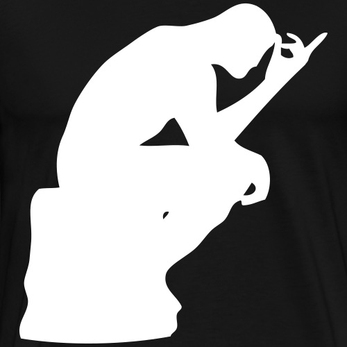 rodin penseur - T-shirt Premium Homme