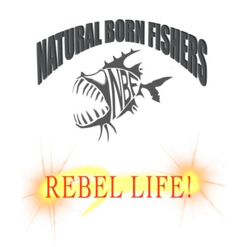 REBEL life - Miesten premium t-paita