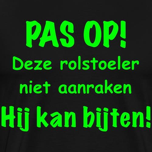 Pasop2 - Mannen Premium T-shirt