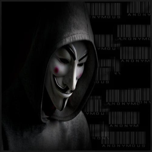 Anonymous_Barcode - Camiseta premium hombre