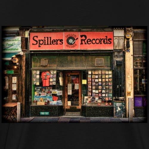 Spillers Records Shop - Men's Premium T-Shirt