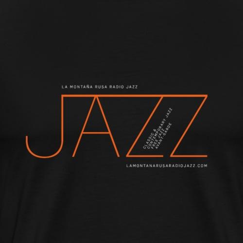 Jazz en La Montaña Rusa Radio Jazz - Camiseta premium hombre