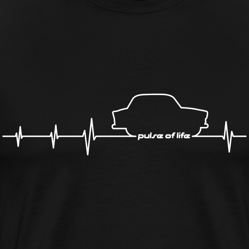 Trabbi 600 EKG - Pulse of Life - Männer Premium T-Shirt