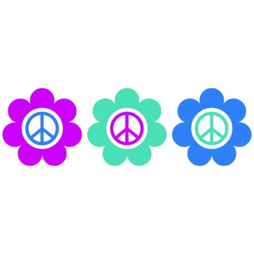 Power Flowers Of Peace Trilogy 2 - Männer Premium T-Shirt