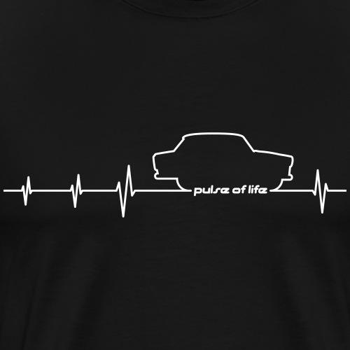 Trabbi 601 EKG - Pulse of Life - Männer Premium T-Shirt