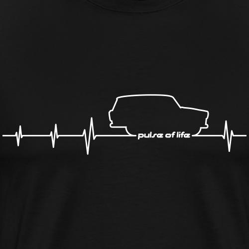 Trabbi 601 Kombi EKG - Pulse of Life - Männer Premium T-Shirt