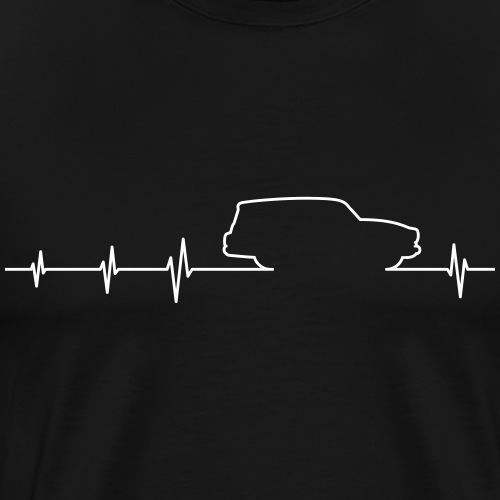Wartburg 311 312 Camping EKG - Männer Premium T-Shirt