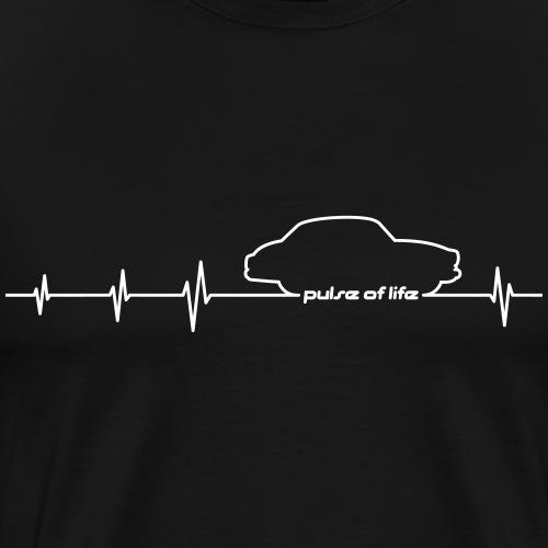 Wartburg 311 312 EKG Pule of Life - Männer Premium T-Shirt
