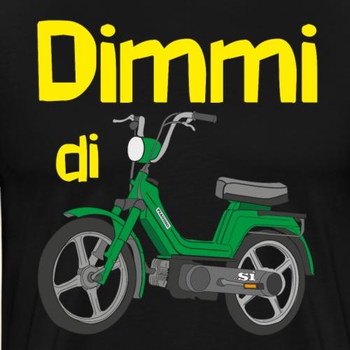 DimmidiSI green - Maglietta Premium da uomo