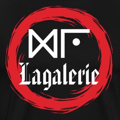 Logo Officiel Gu Lagalerie Blanc - T-shirt Premium Homme