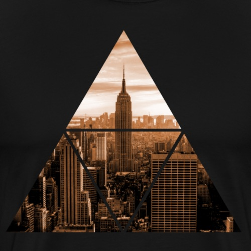 NYC - GRAFIC - Männer Premium T-Shirt