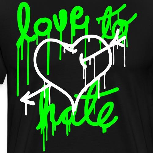 Love to Hate - Men's Premium T-Shirt