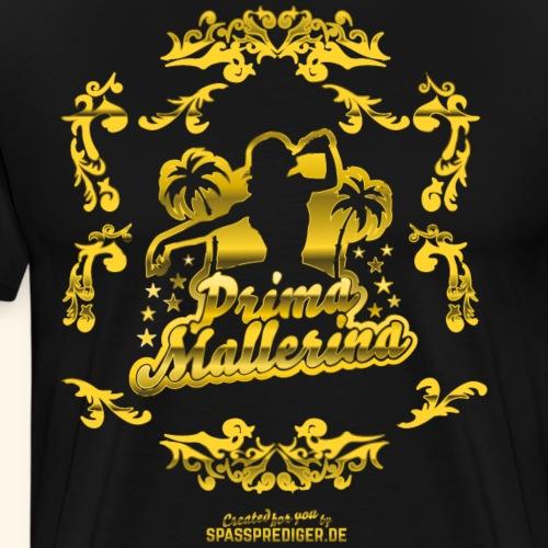 Prima Mallerina, Gold - Männer Premium T-Shirt