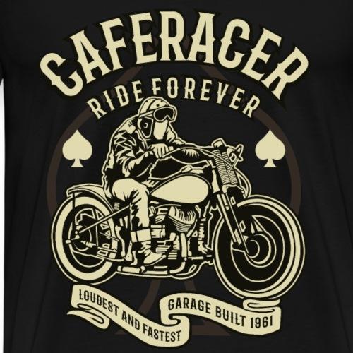 Caferacer Ride Forever - Männer Premium T-Shirt