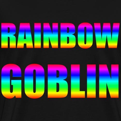 Rainbow Goblin Farming Gamer Shirt Geschenk - Männer Premium T-Shirt