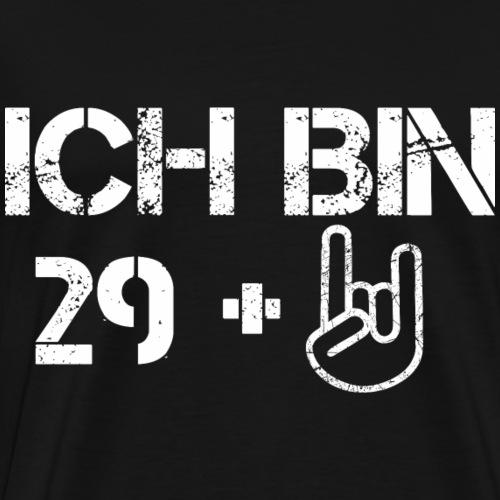 Geburtstag 30 29 plus Shirt Geschenk - Männer Premium T-Shirt
