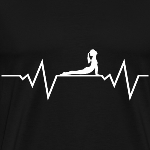 Frau Yoga Uebung Bikram Goa Om Shirt Geschenk - Männer Premium T-Shirt