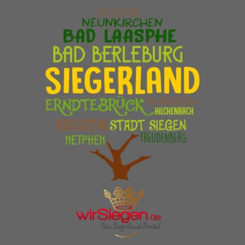 Siegerland - Kreuztal - Siegen Wilsdorf - Männer Premium T-Shirt