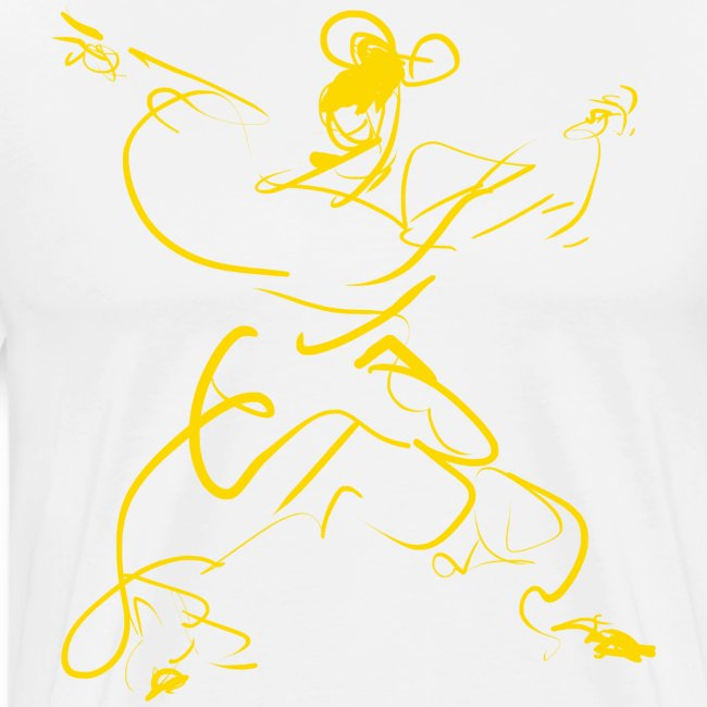 Kungfu figure