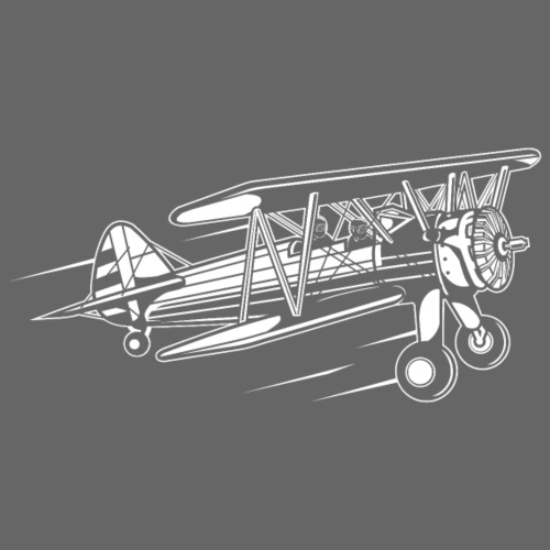 Flugzeug / Airplane 01_weiß - Männer Premium T-Shirt