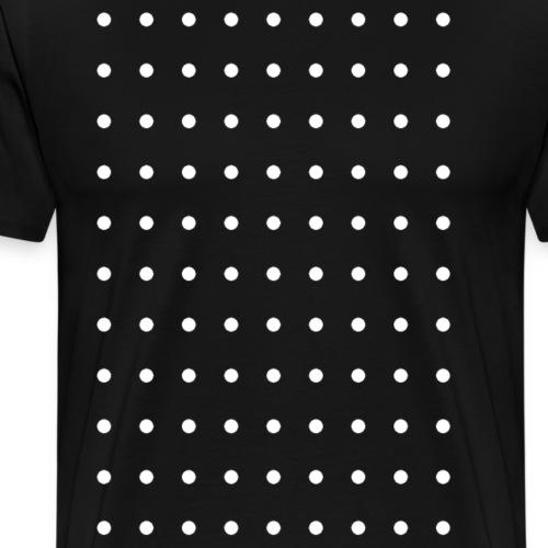 DOTpoint White - T-shirt Premium Homme