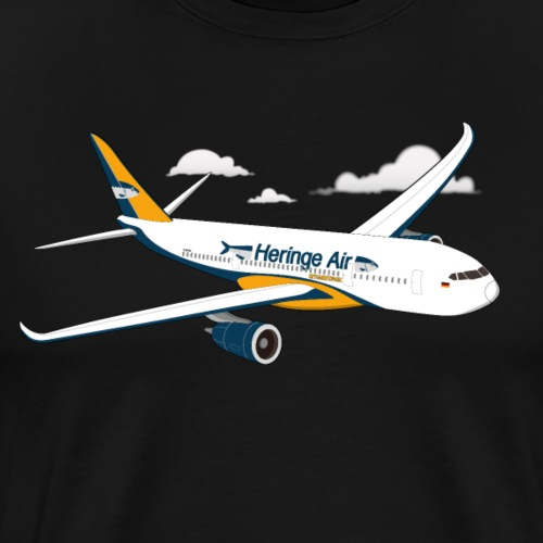 Avion Heringe Air - T-shirt Premium Homme