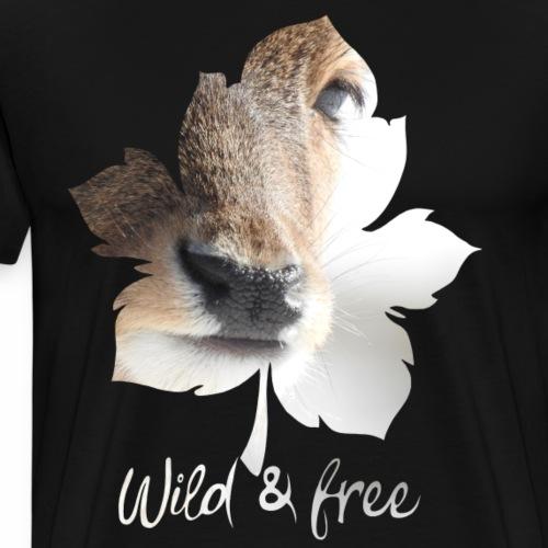 Reh - Männer Premium T-Shirt